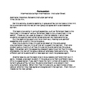 """ESL to Go"" Persuasion: Topics for Debating/Writing Persua"