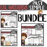 "NEW - ""ESL wizards"" BUNDLE – PAST - BE, Regular and irregular verbs"