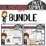 "NEW - ""ESL wizards"" BUNDLE – PAST - BE & Regular verbs"