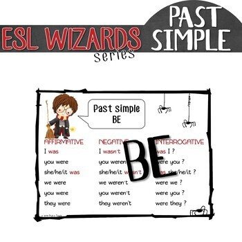 """ESL wizards"" series – PAST SIMPLE ""BE"" for Harry Potter fans"