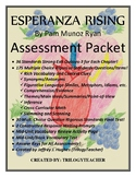 """ESPERANZA RISING"" 60 PAGE/3 Quizzes Per Chapter ASSESSMEN"