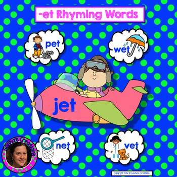 -ET Word Family Interactive Word Work