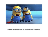 """""""EXCUSE ME"""" Minions social story"""