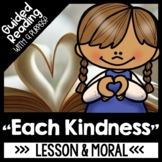Each Kindness Guided Reading | Anti Bullying Activities &