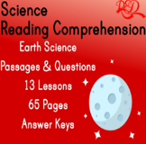 ⭐Earth Science Reading Comprehension Passages and Questions | Bundle