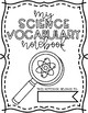 {Earth Science} Student Vocabulary Notebook