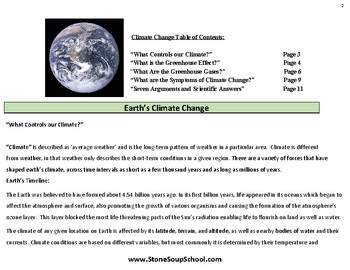 Earth's Climate Change - Global Warming - Environment Science