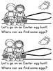 """""""Easter Egg Hunt"""" (An Easter/Spring Emergent Reader Dollar Deal)"""