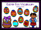 Easter Egg Vocabulary Mats for Speech Therapy