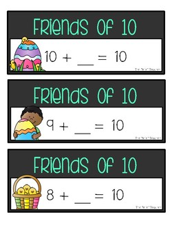 *Easter Themed* Friends of 10 - FREE Activity Pack -