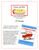 """""""Easy As Pie"""" Area & Perimeter with Arrays 3rd Grade Game"""