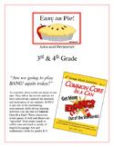 """Easy as Pie!"" Area and Perimeter 3rd & 4th Grade Common C"