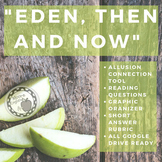 """""""Eden, Then and Now"""" Poetry Reading Analysis Questions and Tools"""