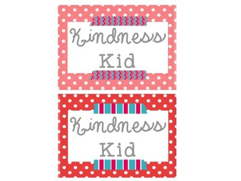 {Editable} 20 Day Kindness Challenge