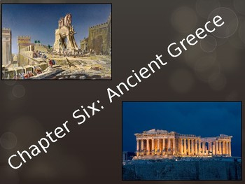 """Editable"" Ancient Greece PowerPoint for Middle School Students"