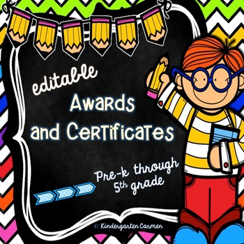 *Editable* Award Certificates and Diplomas {Kids Edition}