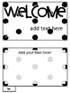 [Editable] Back to School Flipbooks *Polka Dot Freebie*