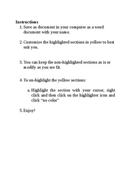 ~ Editable Back to School Letter! ~
