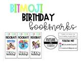 *Editable Bitmoji Birthday Bookmarks