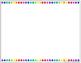 {Editable} Colorful Borders {Landscape} Set 1