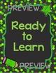 EDITABLE Rainbow Chalkboard Confetti Chart Behavior Management System 2 Versions