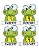*Editable* Frog Themed Birthday Display