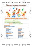 [Editable] IB PYP cover sheets Microsoft Word doc