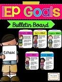 {Editable} IEP Goals Bulletin Board