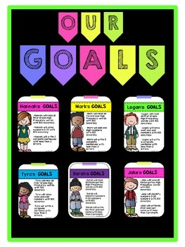 Editable Iep Goals Bulletin Board By Very Special Learners Tpt
