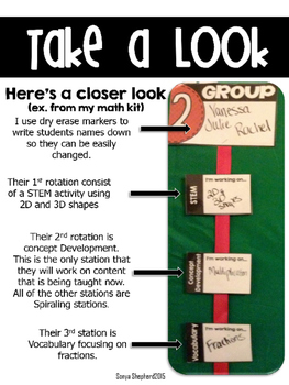 **Editable** Literacy Workstation Display Kit