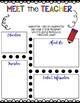 *Editable* Meet the Teacher Newsletter