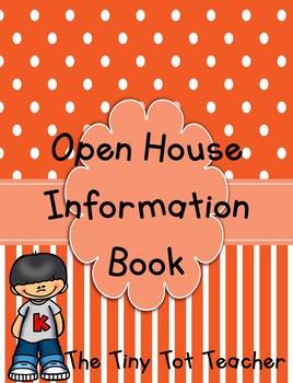 {Editable} Open House Book
