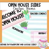 {Editable} Open House Slide Show - Cactus Themed