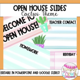 {Editable} Open House Slide Show - Cactus Themed