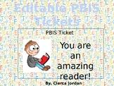 *Editable* PBIS Tickets