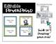 {Editable} Polka Dot Literacy Center Signs