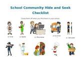 [Editable] School Community Hide and Seek Set
