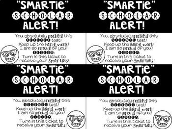 "Editable ""Smartie"" Scholar Alerts- Positive Incentive for Students"