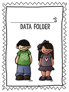 {Editable} Student Data Folders