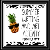 **Editable** Summer Writing and Art Project