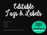 [Editable] Tags and Labels