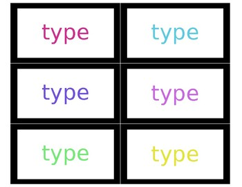 {Editable} Word Wall Cards - For Any Content Area!