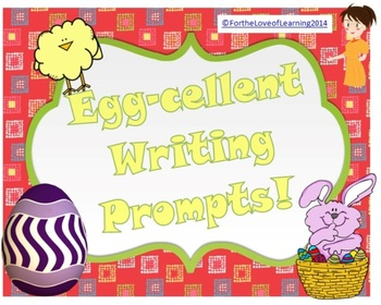 Easter Literacy Circle Idea ~ Creative Writing Prompts Gr1-6