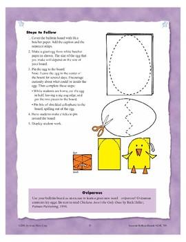 """Eggs""-citing (Bulletin Boards)"