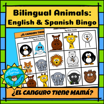 ¿El Canguro Tiene Mamá?: Bilingual English and Spanish Animals Bingo