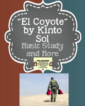 """Coyote Simulation and """"El Coyote"""" by Kinto Sol:  Music Study and More!"""