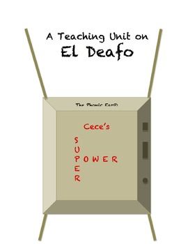 """El Deafo"" Teaching Unit: Activities, Q & A, Vocabulary, Writing Ideas"