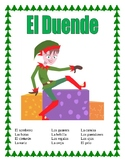 """El Duende""- La Ropa y El Cuerpo-"" Elf Themed - Body Parts /Clothing in Spanish"