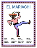 """El Mariachi""- La Ropa y El Cuerpo-"" Mexico"" -  Body Parts /Clothing  in Spanish"
