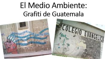 """""""El Medio Ambiente"""" Graffiti"""